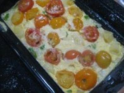 シリコンスチーマーで作る!夏野菜スペインオムレツ