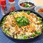 低糖質・節約レシピ! 厚揚げの肉味噌チーズ焼き(^O^)/