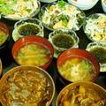 【お野菜ゴロゴロカレー丼の晩ご飯セット】娘と孫が来た時のご飯です^^ by あきさん