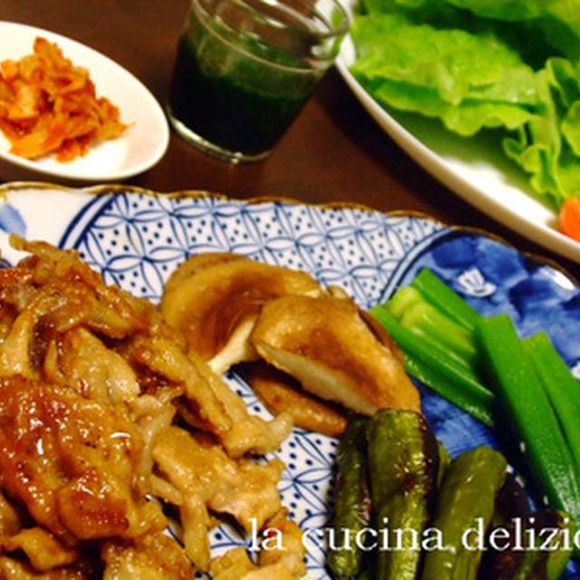 安いお肉で手巻き焼き肉(レシピつき)
