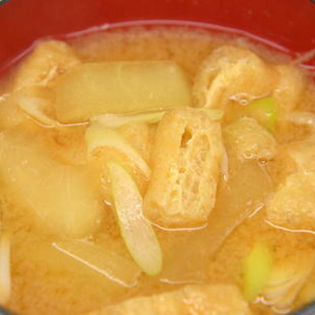 夕顔の味噌汁