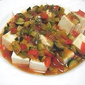 冷やし麻婆豆腐