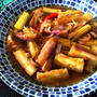 recipe☆マクアッパット(茄子の甘辛味噌炒め)