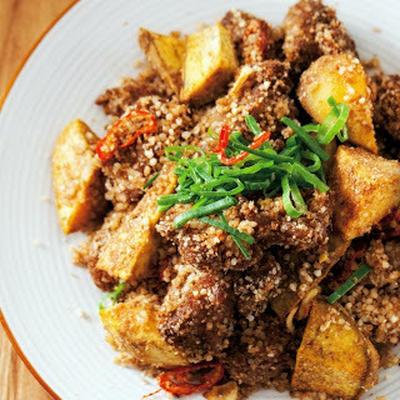 粉蒸肉片│もち米と豚肉の中華蒸し