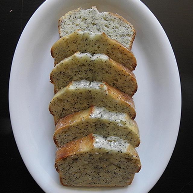 LEMON POPPY SHEED LOAF CAKE
