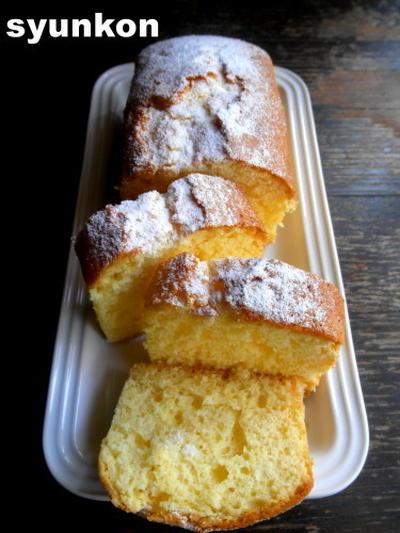 【簡単!!】プレーンのパウンドケーキ*cottaさんの太白ごま油でお菓子作り