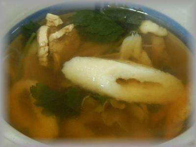 きりたんぽスープ~鍋ほどのボリュームなし