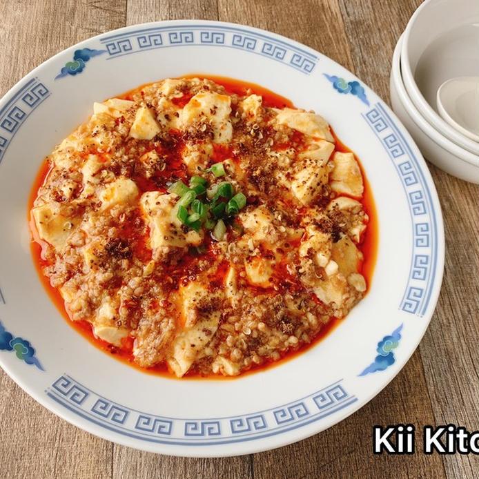 レンジで簡単本格「麻婆豆腐」
