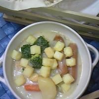 夕食☆焼きチーズシチュー♪