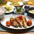 【オクラの肉巻きレモン醤油】#肉巻き#疲労回復#お弁当おかず#簡単 …お弁当の思い出。
