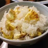 千葉県産こしひかりで☆秋の味覚☆栗ご飯☆炊いてみました♪