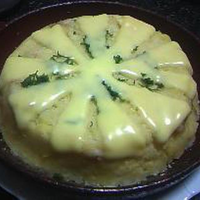 ポテトとタラのノルウェー風?、豚ヒレ肉バター焼き