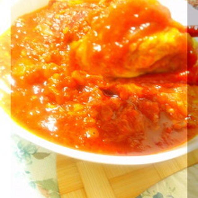 残ったお肉で☆いろいろお肉のトマト煮