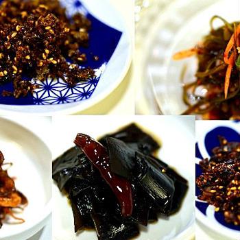 ⭐️残った出汁がらで「日韓おかず5品」&基本出汁(一番出汁、二番出汁、3番出汁)