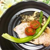 減塩☆豚肉のレモンペパーソテー