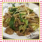 春キャベツと豚肉の辛味噌炒め(レシピ付)