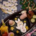 はんぺんうさちゃんで☆クリスマス弁当☆