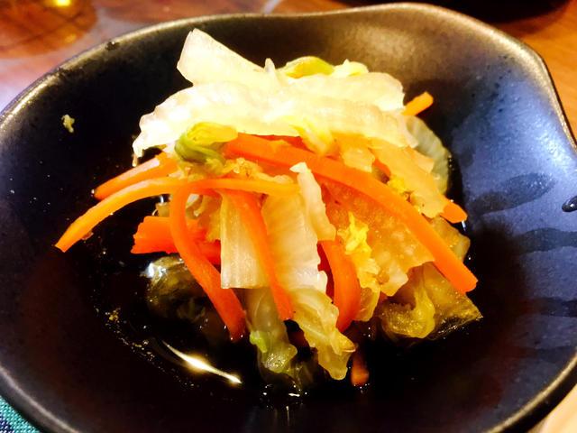 白菜と人参の和風煮