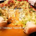 たっぷりキャベツと黄身溢れる・巣ごもり☆トースト by Jacarandaさん