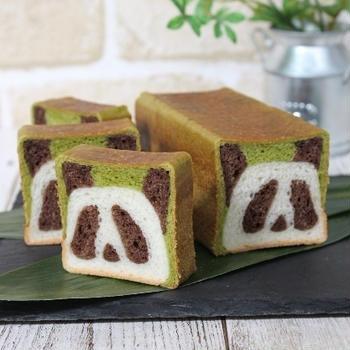 ミニサイズのパンダ食パン