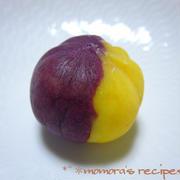 さつま芋と紫芋の簡単お菓子♪可愛いスイートポテト和菓子風&京都南座 桟敷席get