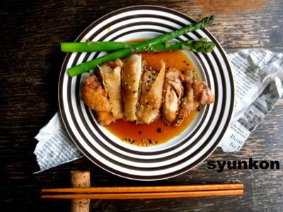 【簡単!!カフェごはん】揚げ鶏の香味南蛮だれ