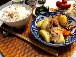 ■さぶらぎごはん<br><br>これは全国の給食で一番おいしいのではといわれている献立です。それを家...