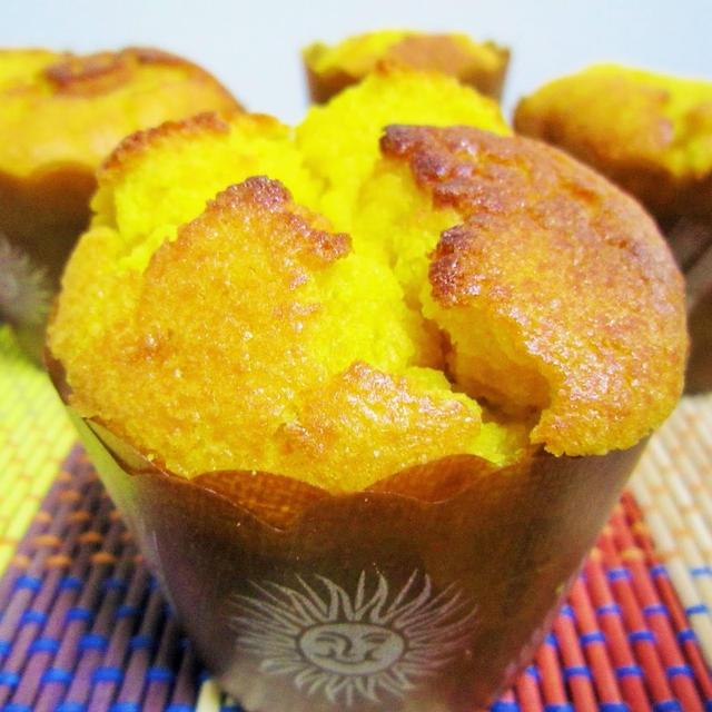 [FPで混ぜるだけ*簡単]南瓜のカップケーキとちょっとした話