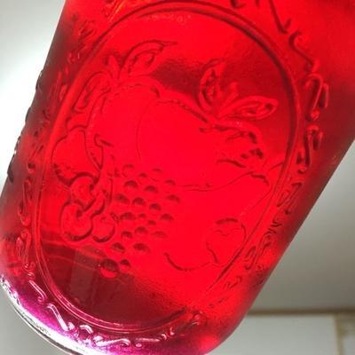 梅しごと⑦「赤じそシロップ(しそジュース)」〈赤紫蘇・きび砂糖・りんご酢使用〉