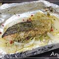 ☆鮭と玉ねぎのハーブ焼き☆