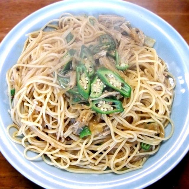 [主菜] インド風・カレーパスタ