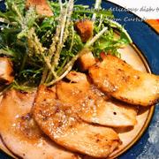 鶏ハムのマスタードソテー
