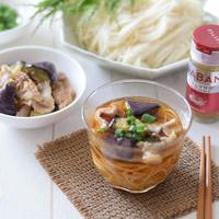 【スパイスアンバサダー】豚バラ肉とナスのガラムマサラ風味つけ麺♡夏にピッタリ♪乙な味!