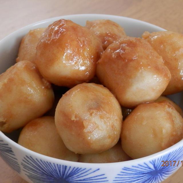簡単☆里芋の香味ペースト風味