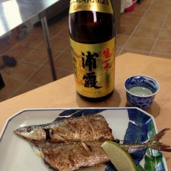 浦霞×さんまの山椒焼き