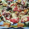 キャベツのぎゅうぎゅうチーズ焼き