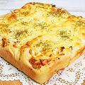 大きさ色々チーズツナベーコンオニオンちぎりパンの作り方 by HiroMaruさん