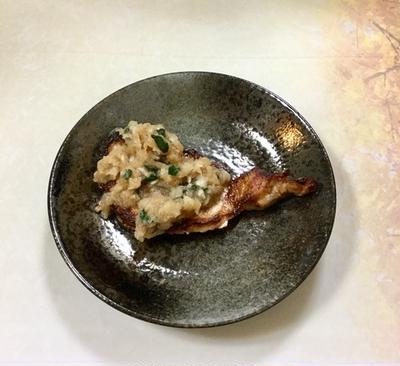 豚肉ソテーおろしかぶソース