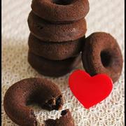 バレンタインに♪ホットケーキミックスで簡単!チョコバナナドーナツとラッピング