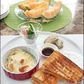 美味しい角食で!grilled cheese プレート by hannoahさん