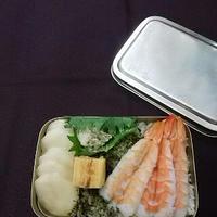 昭和のささやかな祝い寿司