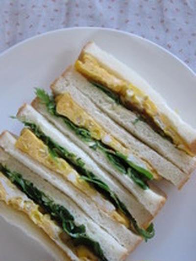 「サンドイッチ紀行 No,6 ~玉蜀黍オムレツサンド~」