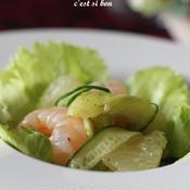 夏野菜のタイ風サラダ