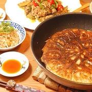 596円*一パックのひき肉でWメイン♪中華3品定食