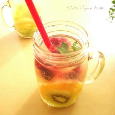 ビタミンたっぷりフルーツビネガーウォーター《ミツカンリンゴ酢モニター》