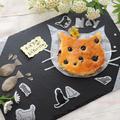 チーズケーキが食べたいにゃ!?☆妹作にゃんこ型チーズケーキ by ひなちゅんさん