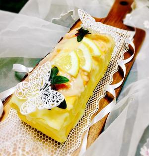 バター無し♪レモンパウンドケーキ♡ふわふわ♡しゅわっ♪
