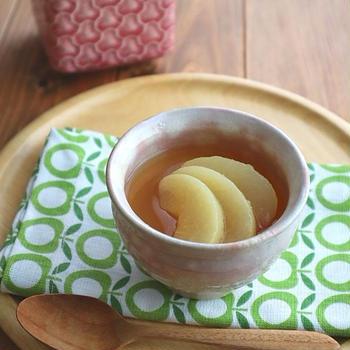 お口直しに♪台湾茶の白桃ゼリー