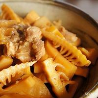 鶏肉と筍の甘辛煮
