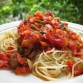 プロ仕様!夏にうれしい 生トマトの冷製パスタ!